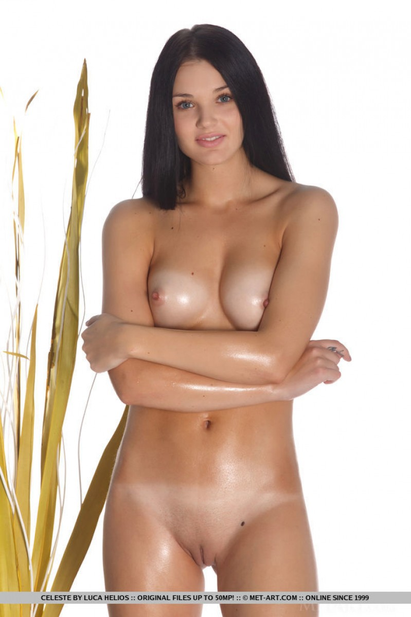 Oiled Teen With Perky Tits-4680