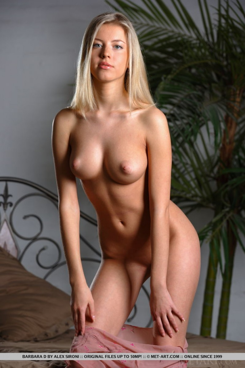 Blonde firm tits