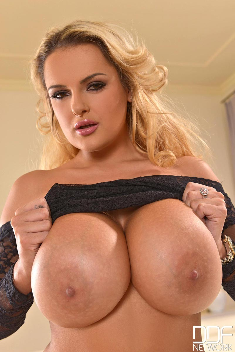 Big boobs tits nude model