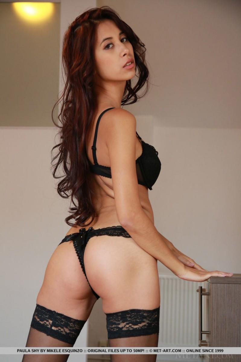 Brunette porn lingerie sexy
