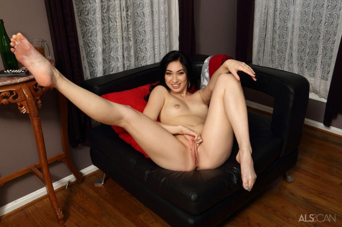 Blonde hottie licking her mistresses feet 1