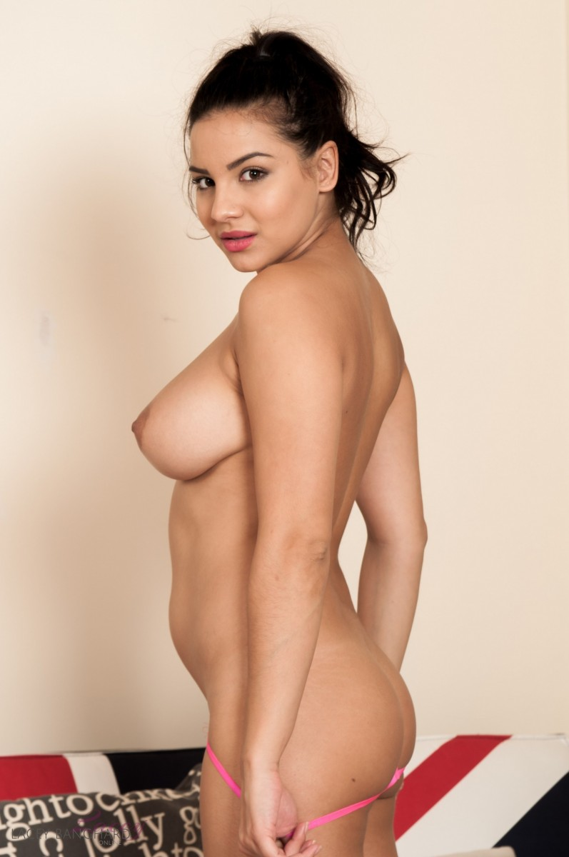 Lacey Banghard In A Pink Thong-9643