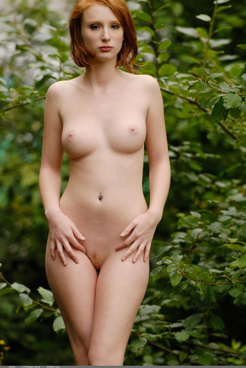 Naked Redhead With Firm Perky Breasts-5494