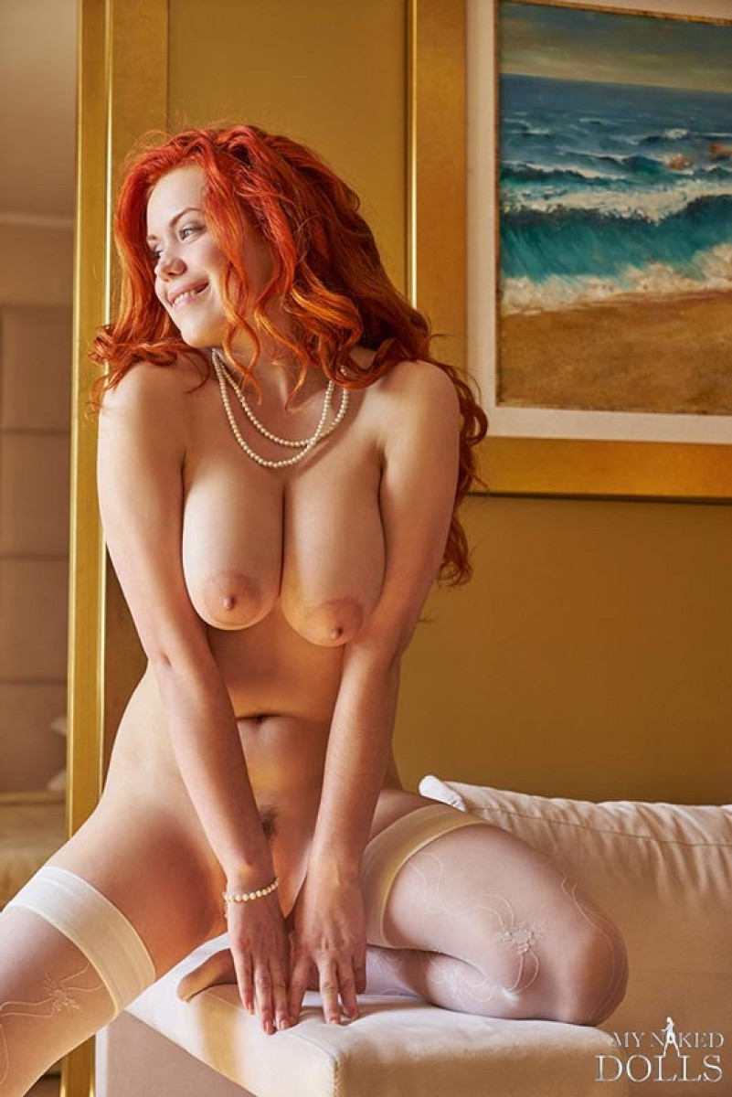 What redhead babes in stockings 7119 not