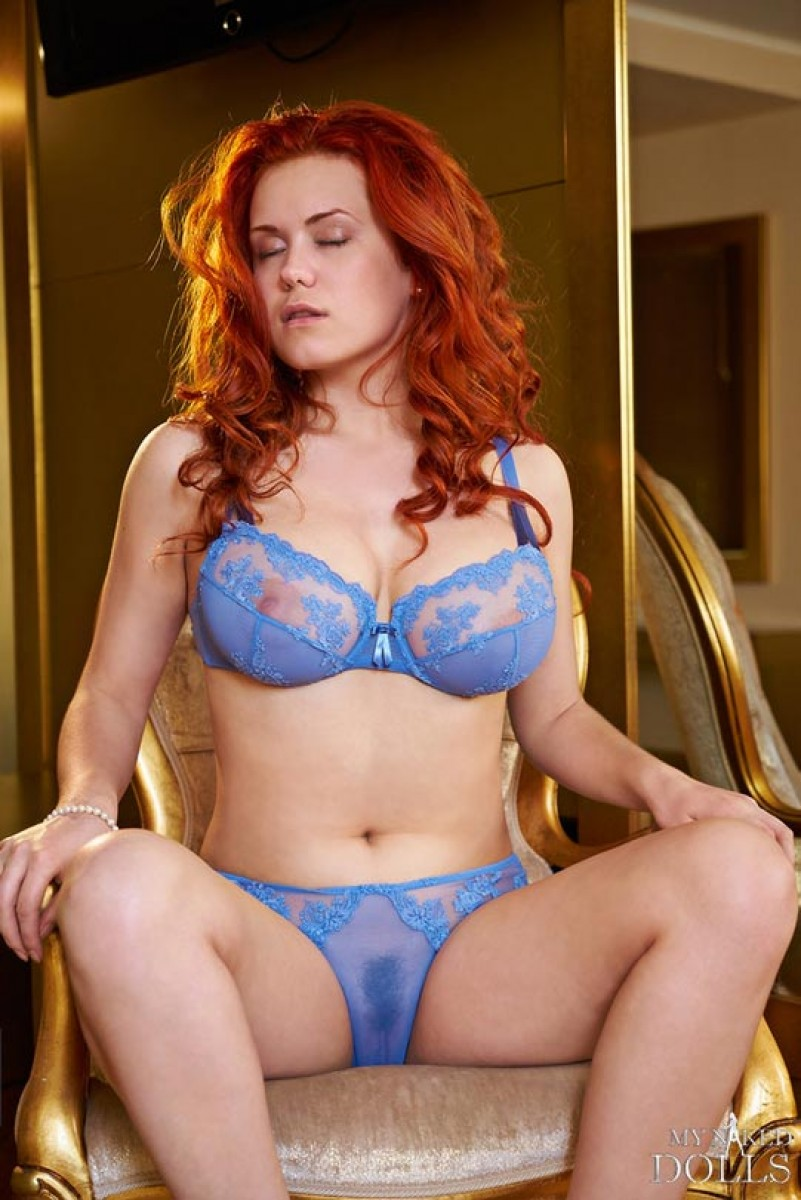Own anatomy redhead natural knickers there
