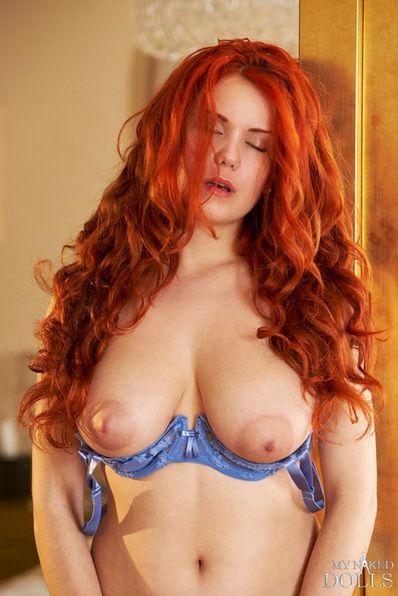 Redheads with big natural tits
