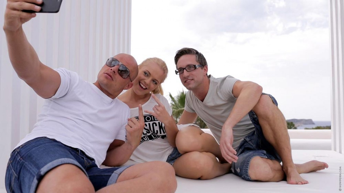Skinny Teens Threesome 79