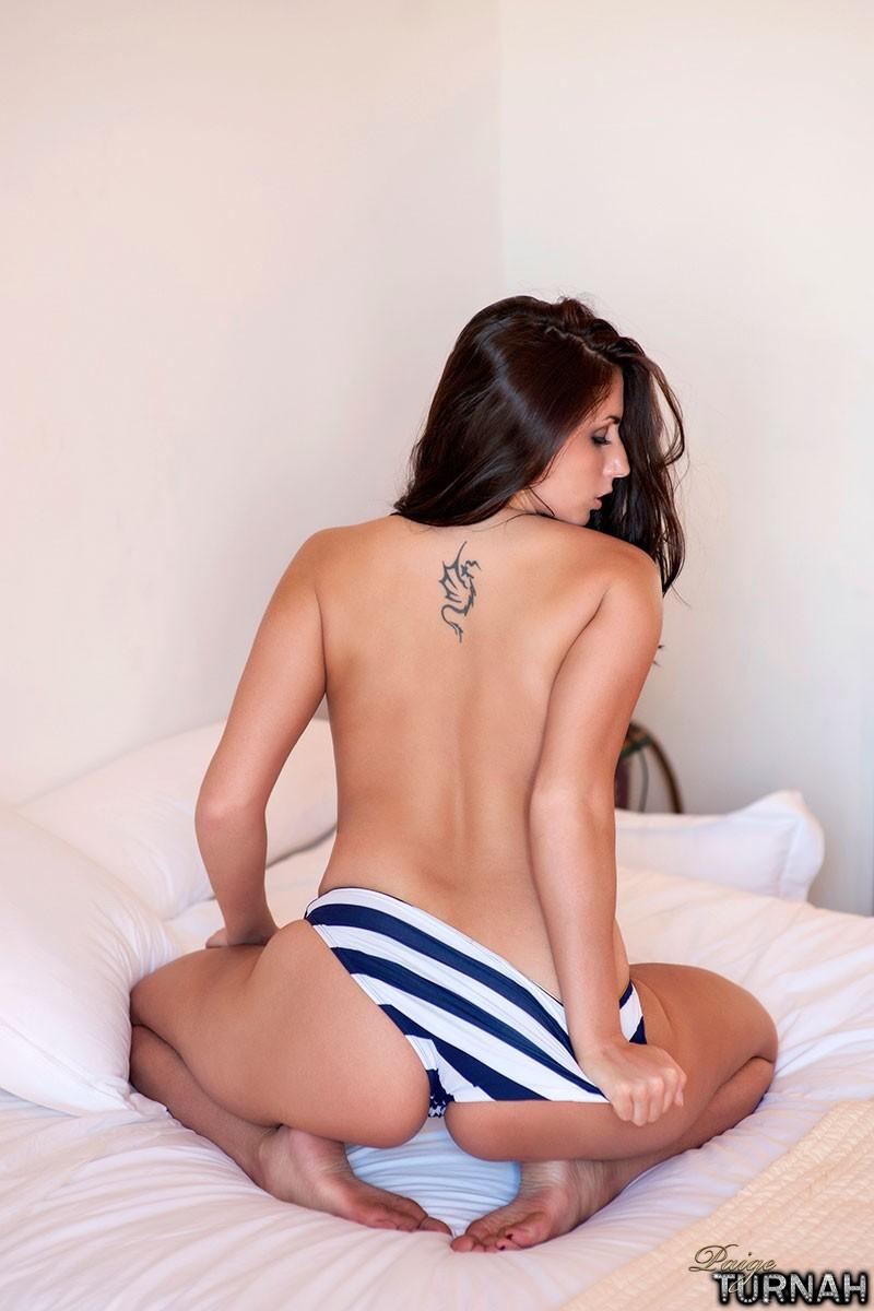 paige turnah in bikini bottoms