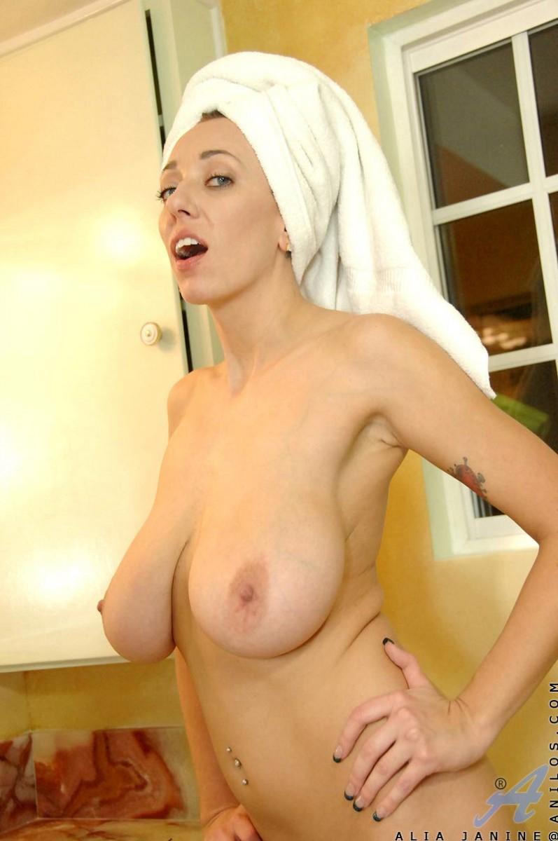 Busty Milf Shower