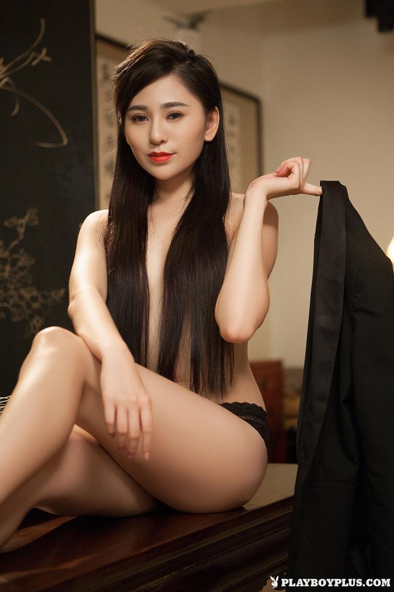 Wu Muxi Hot Asian Playboy Model-7563