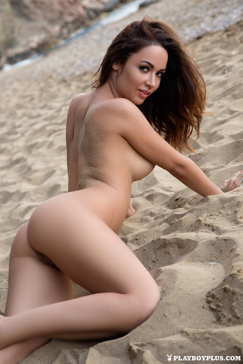 Adrienn Levai Naked At The Beach-4734