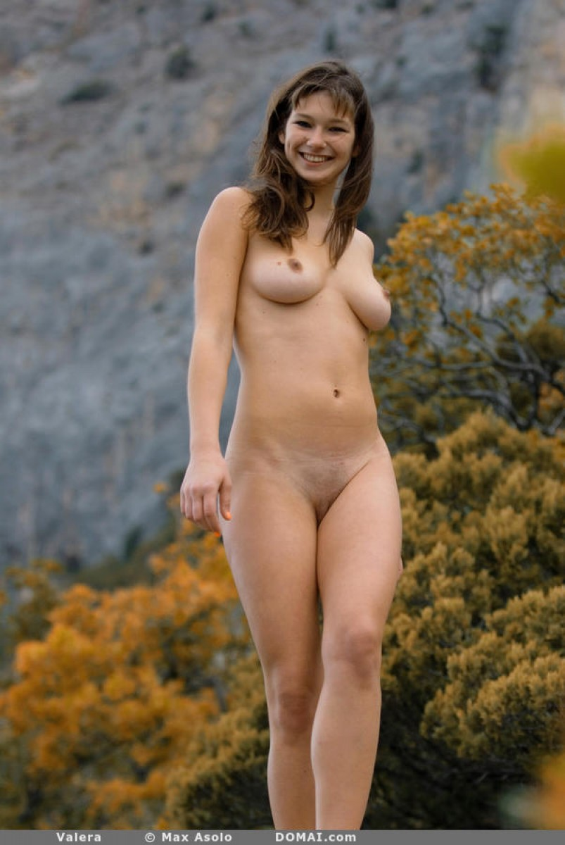 Fit Nude Outdoor Babe