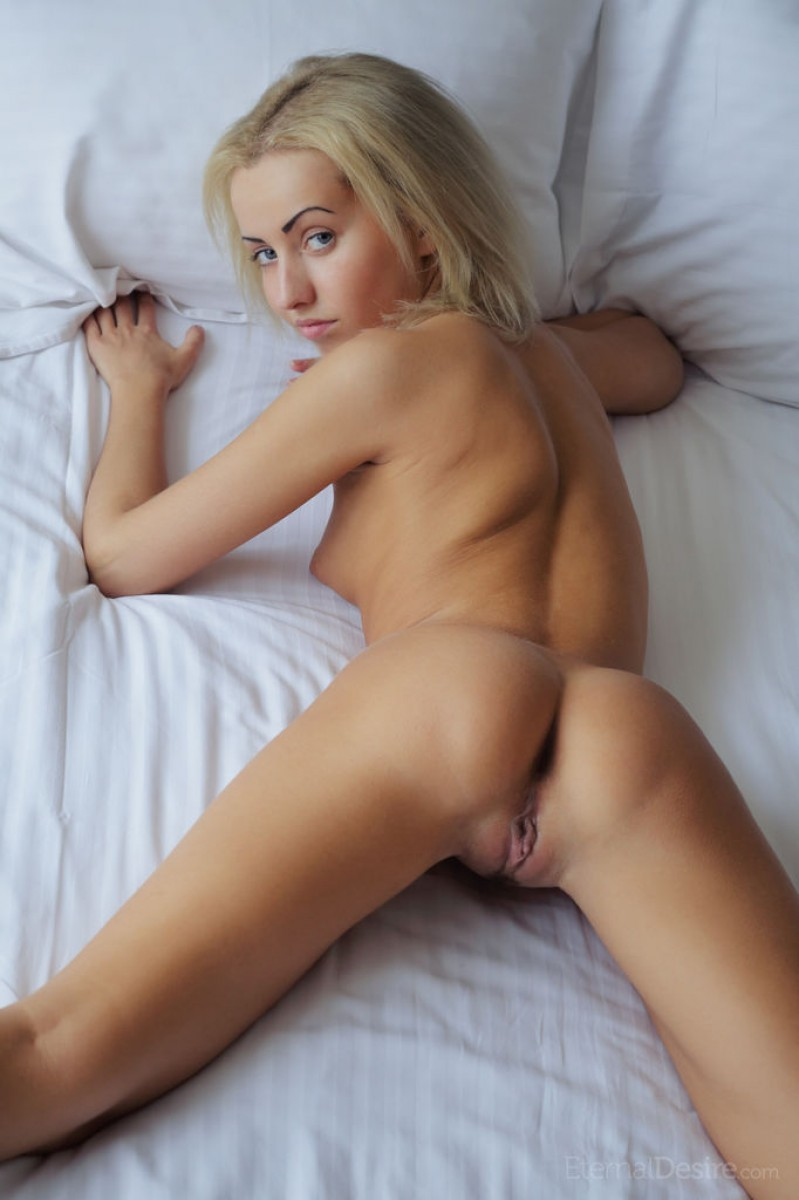 cute blonde ass