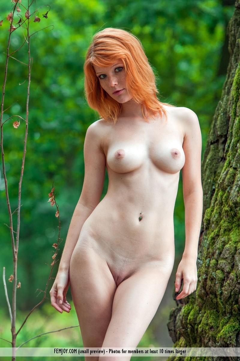 Naked Redhead Mia Sollis-3474