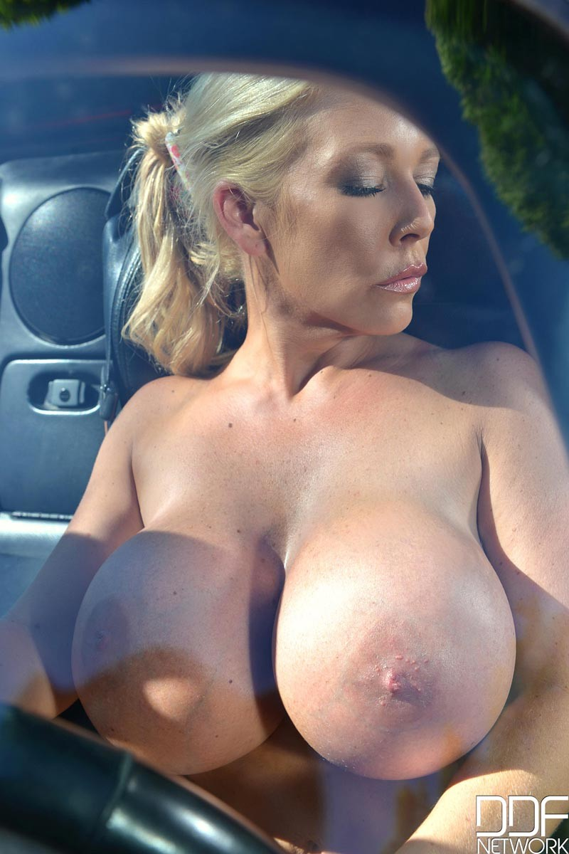 Big tits milf blonde ride a cock
