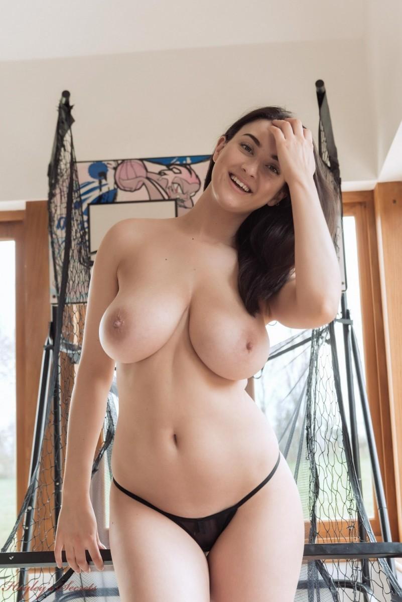 Big tits and thong