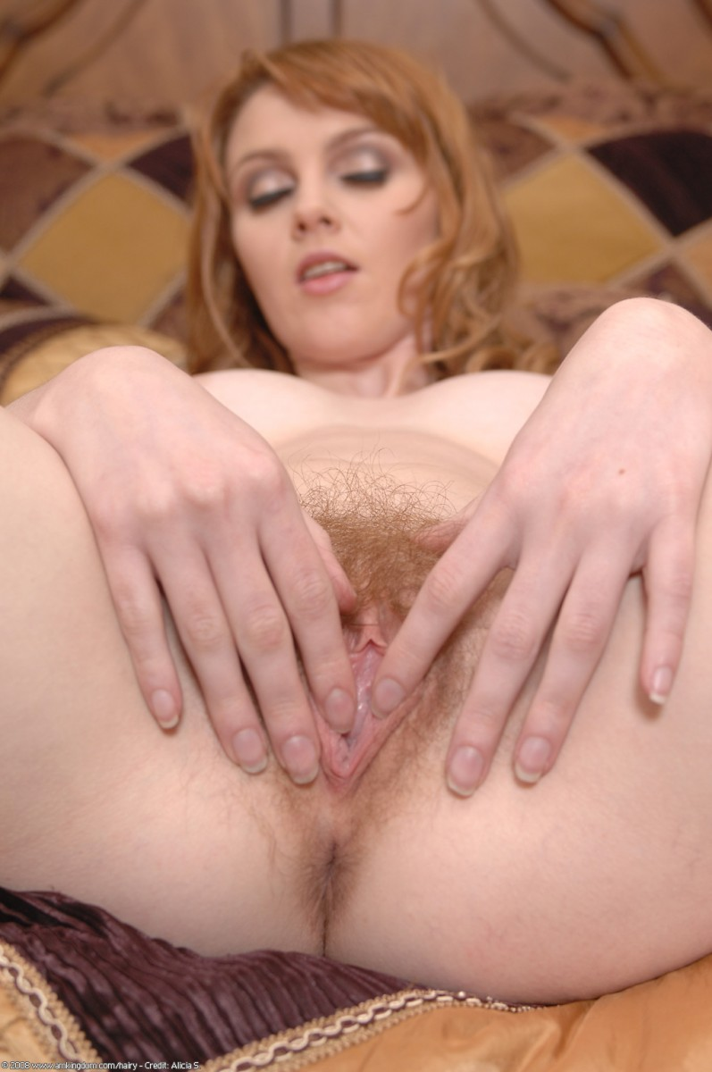Natural red head pussy amusing