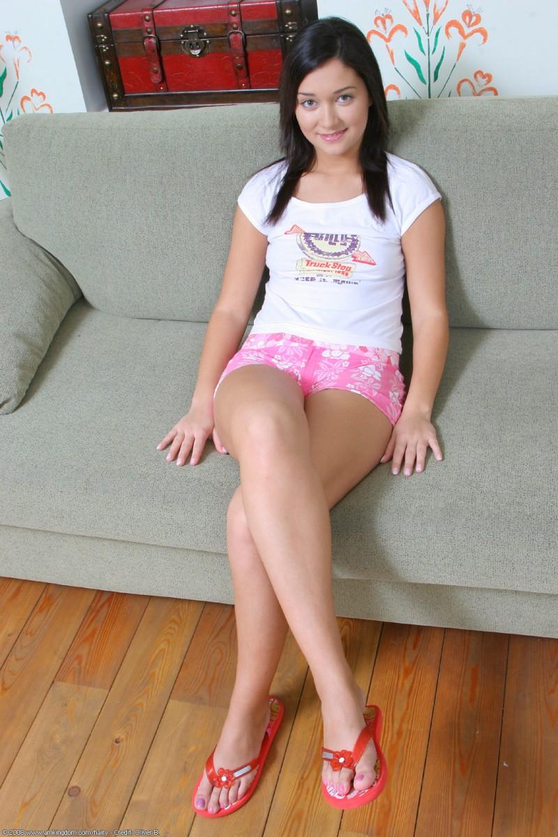 Ebony nude girl next door