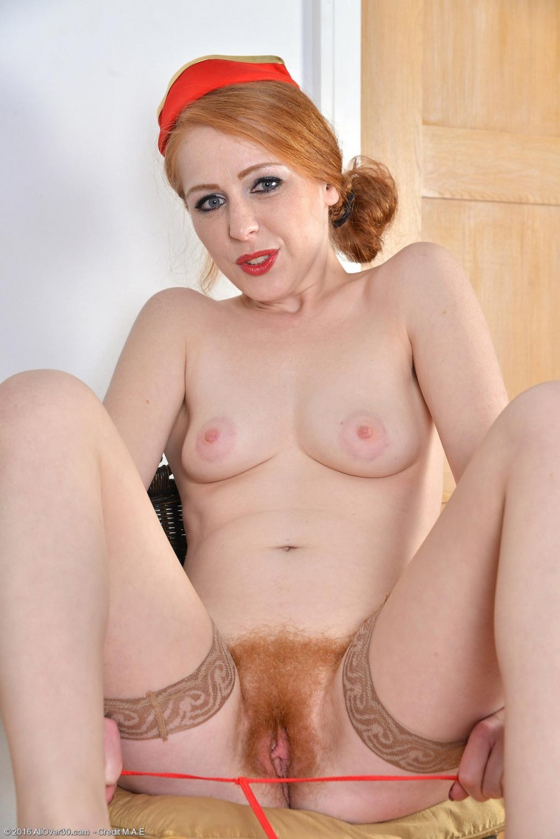 Hot naked redhead milf hope