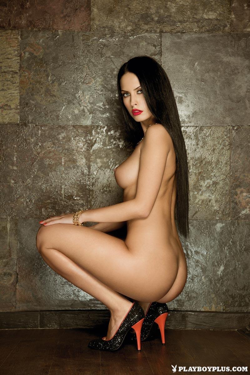 Hot Romanian Model Eleni Corfiate Nude-7388