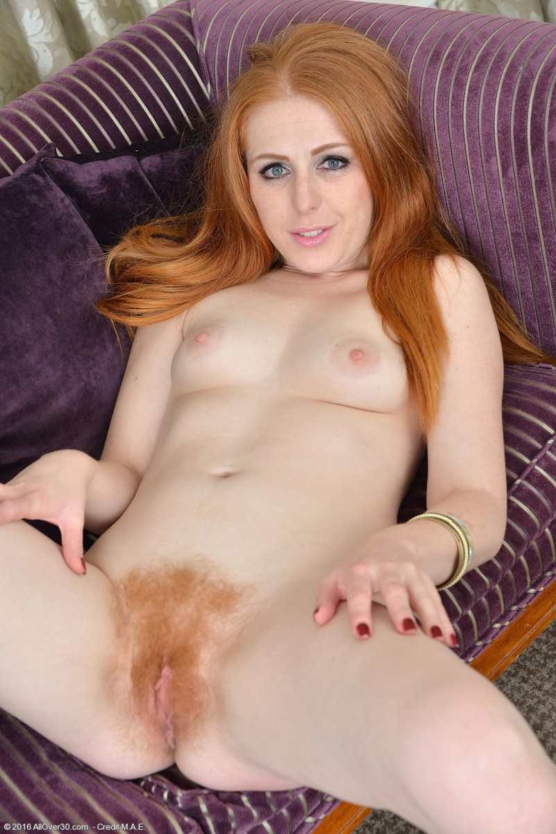 red haired mature naked women