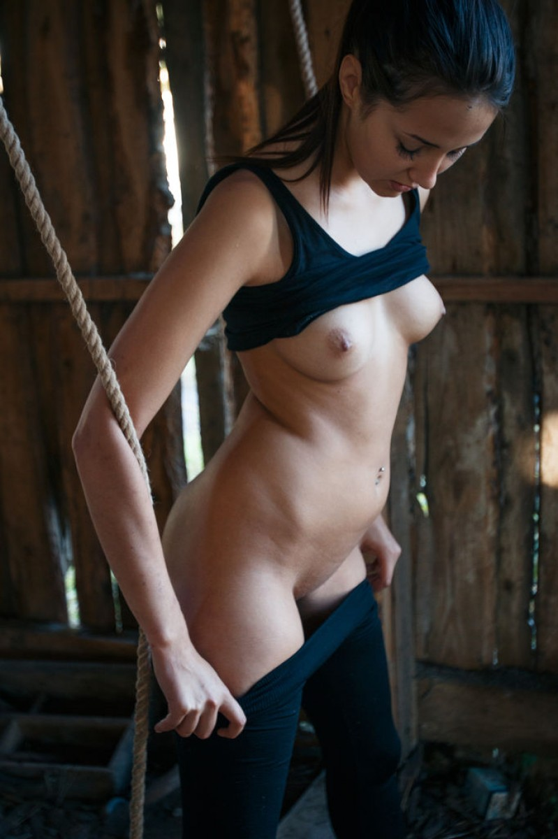 tied naked Babe