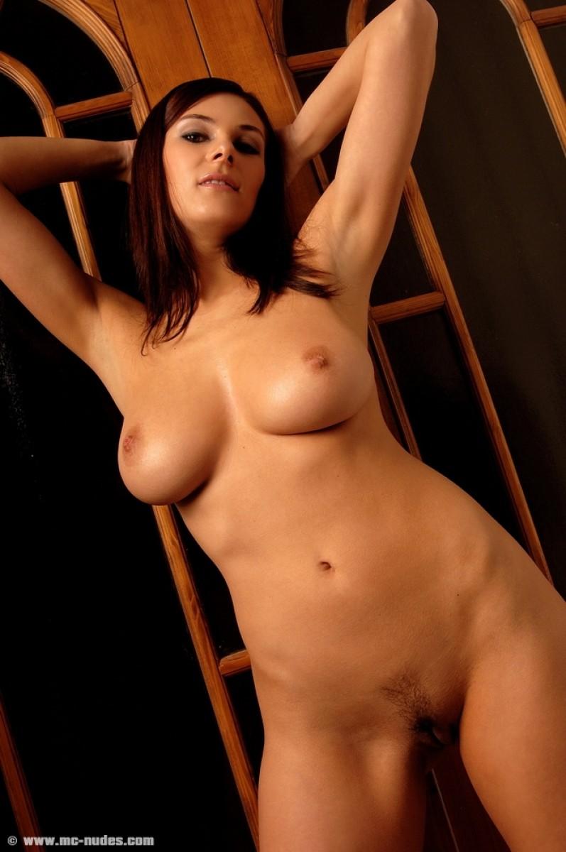 Big tit redhead pleasuring herself 2