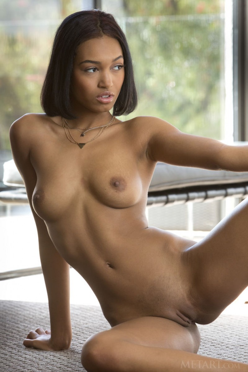 Noelle Monique Naked Sensual Ebony-3415