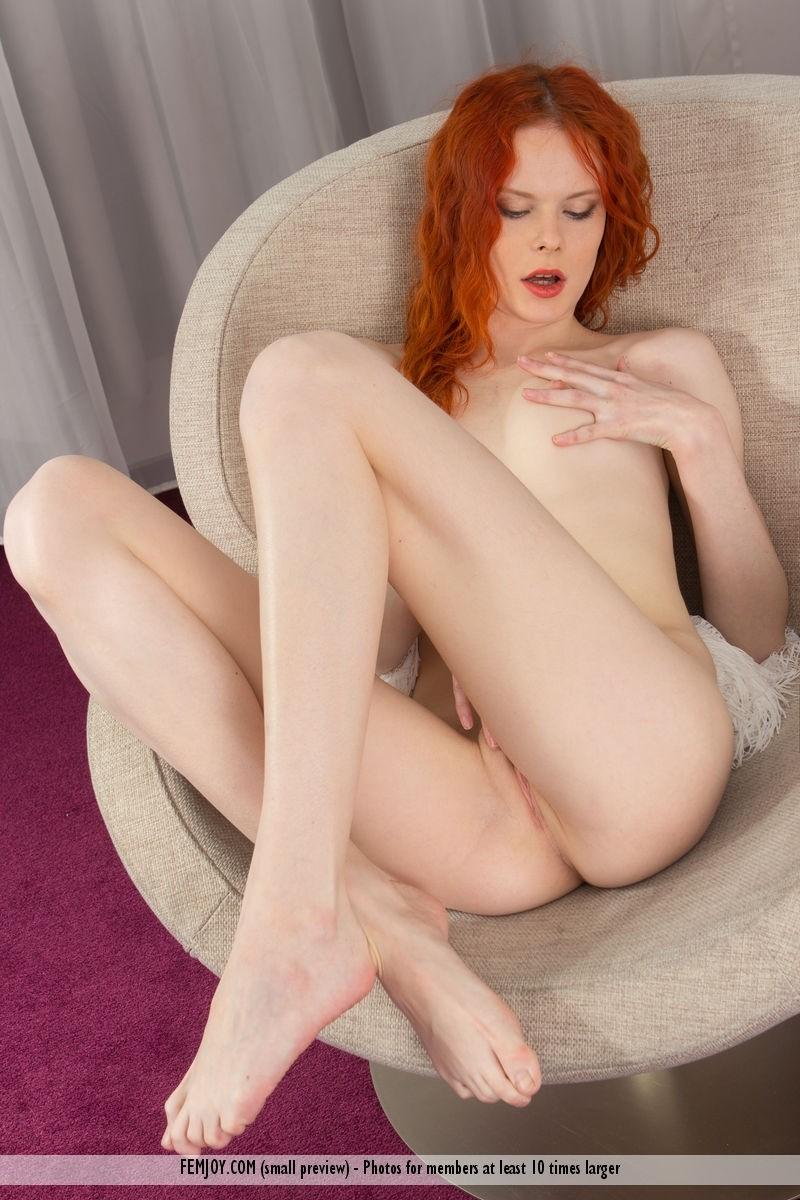 Pale redhead wife