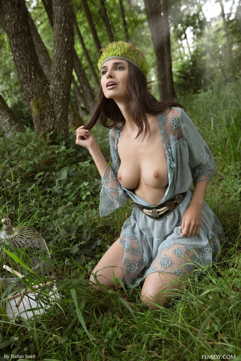 Big Tits In The Woods 36