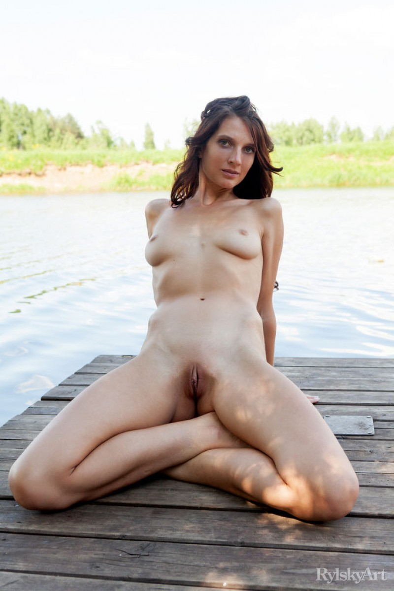 Nude Model by the Lake