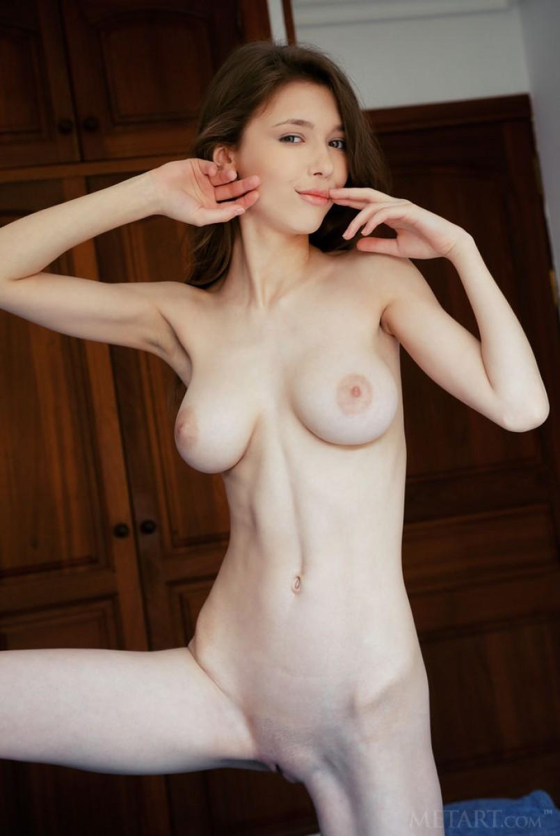 huge tits tight body