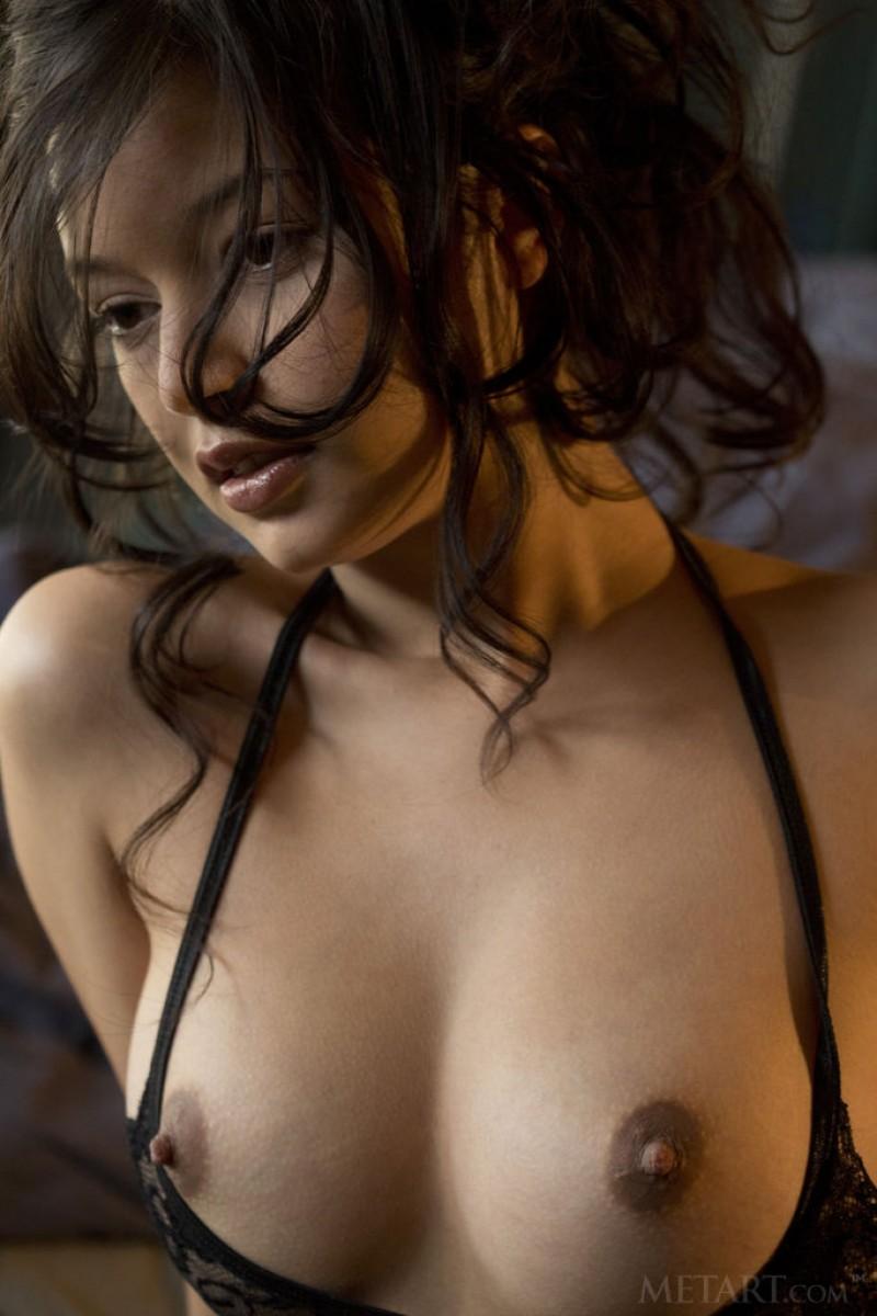eden addams strips off her lingerie