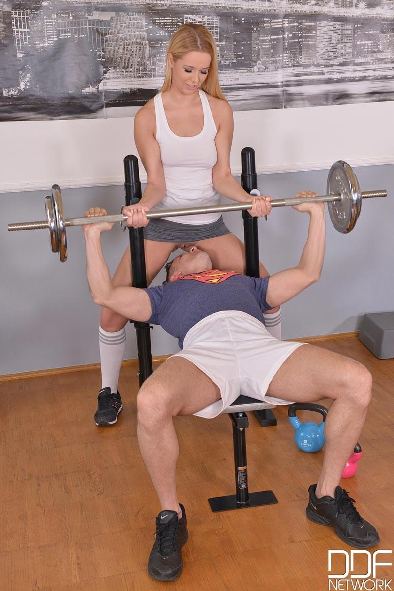 Nikky Dream Gym Blowjob-1335