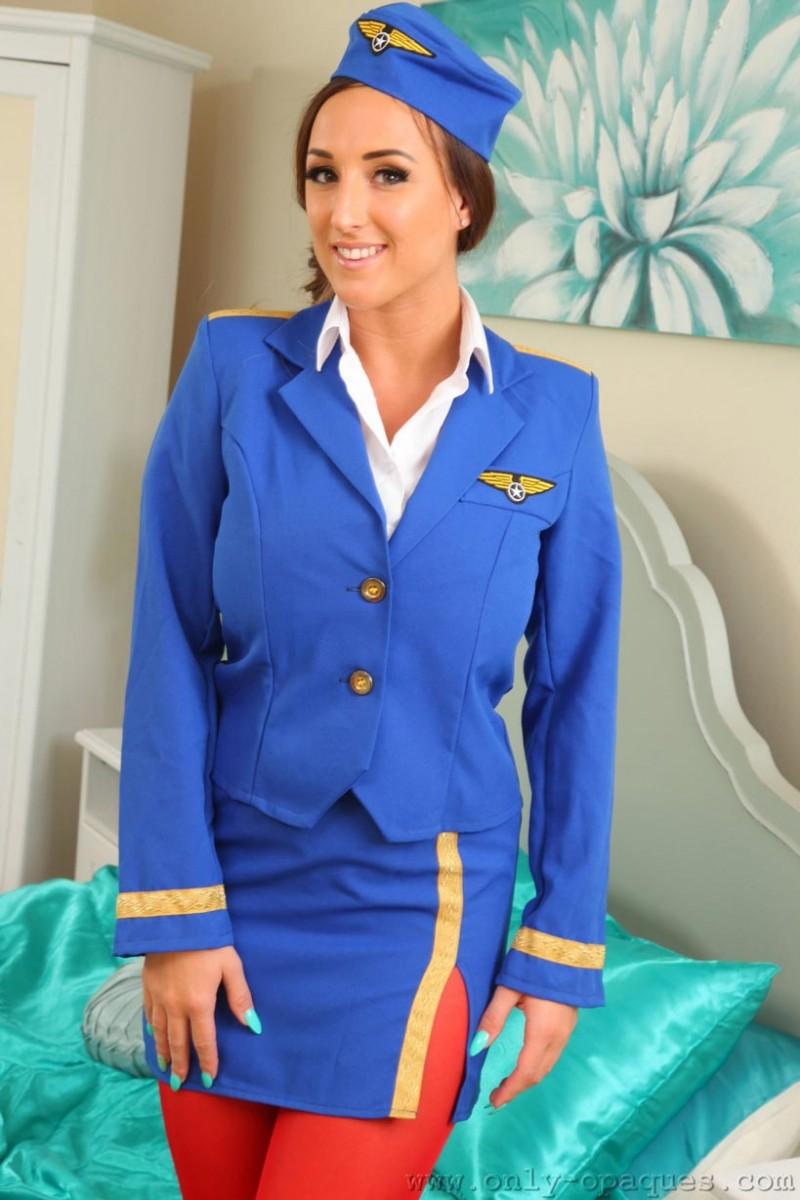 Hot Teen Brunette Hostess 109