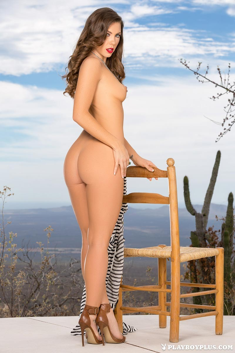 gia ramey takes off her bikini
