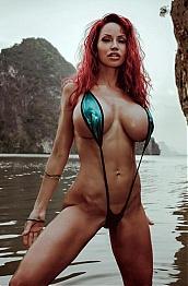 Bianca beauchamp sling bikini