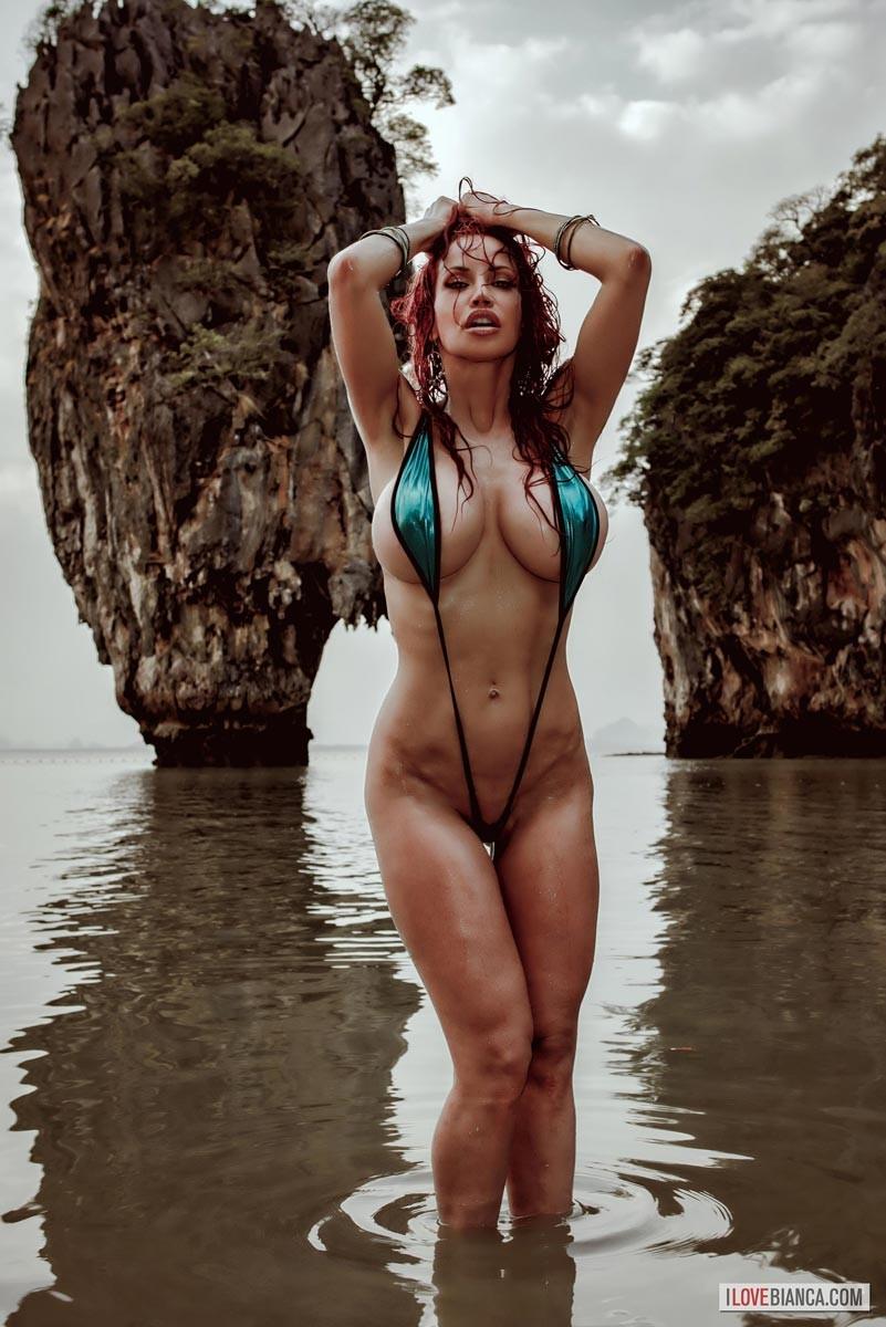 Bianca Beauchamp Sling Bikini-1305
