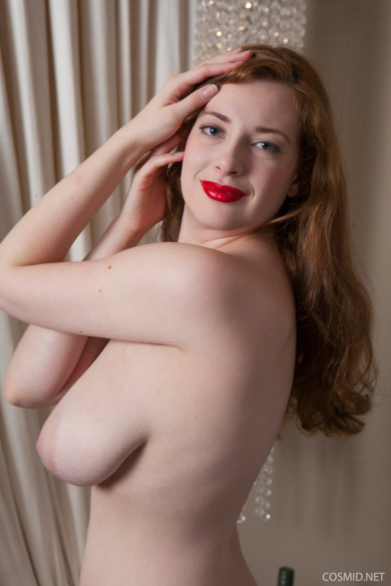 Redhead With Giant Tits