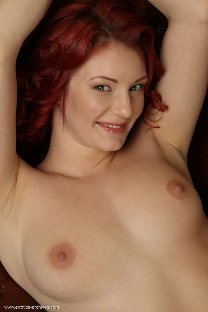 Rachel Fox Naked Redhead Spreading-2482