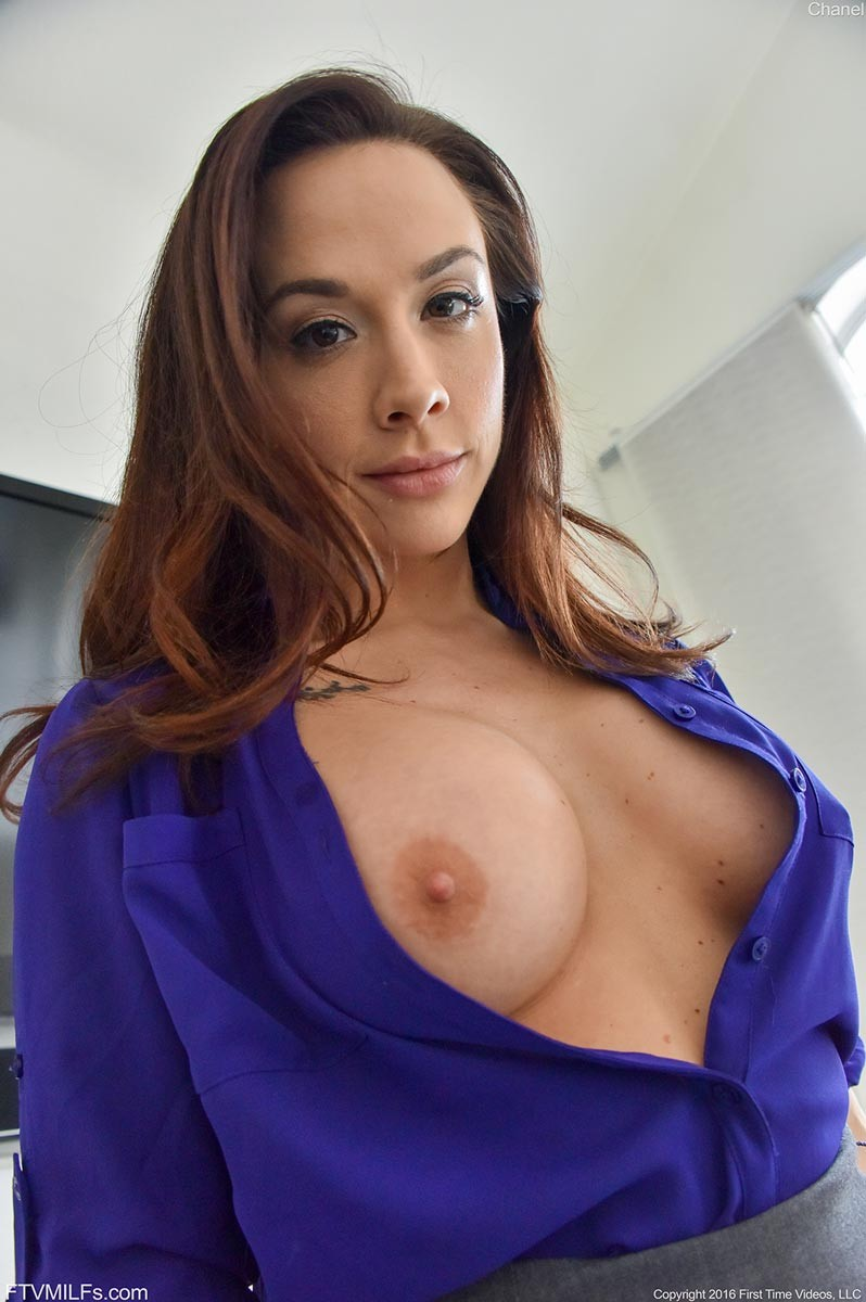 nude Chanel preston