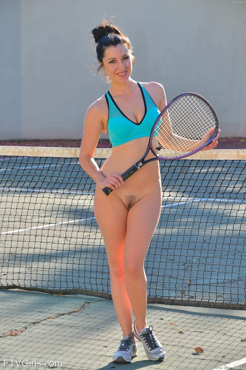Sorry, that young tennis girls nude