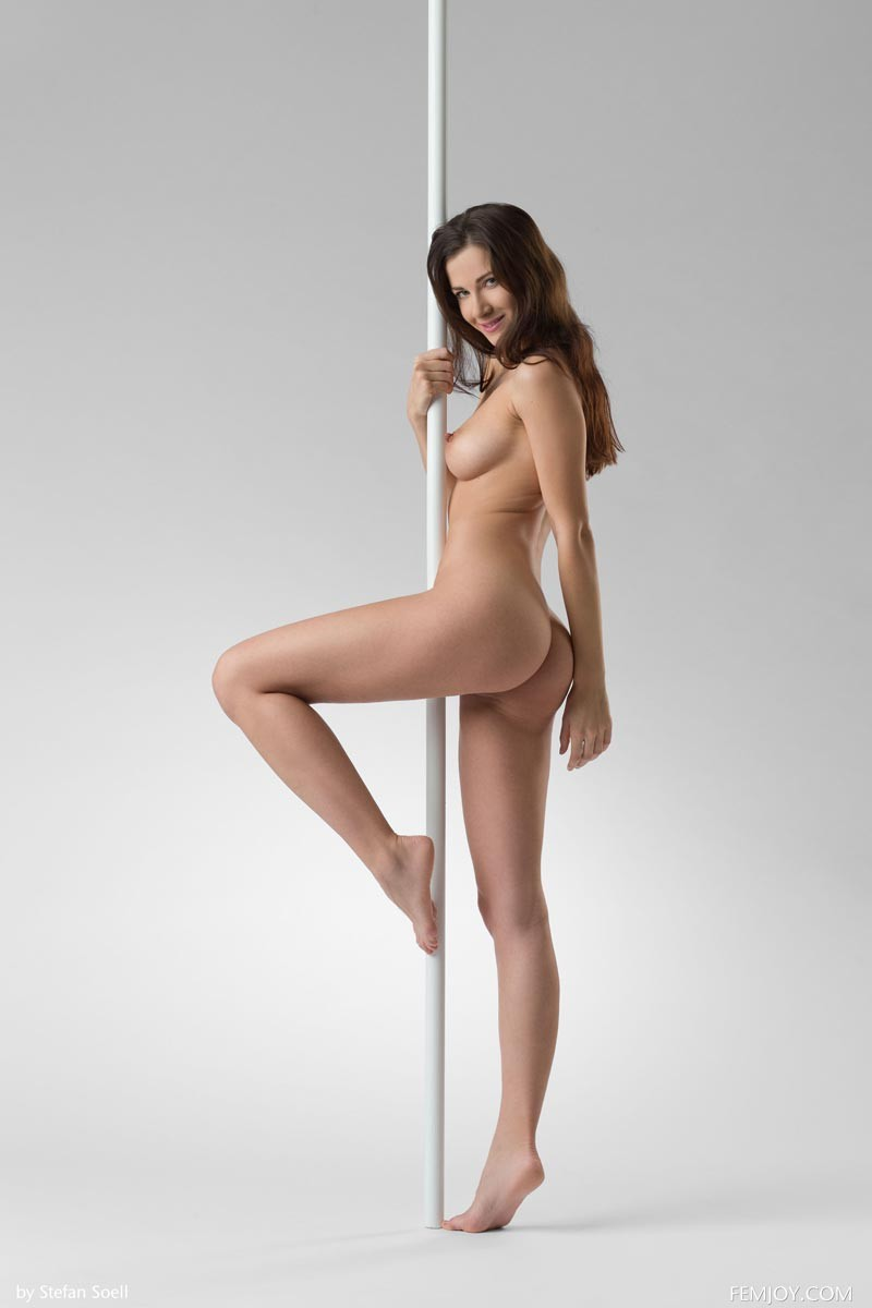 Lauren Crist Works The Pole-5777