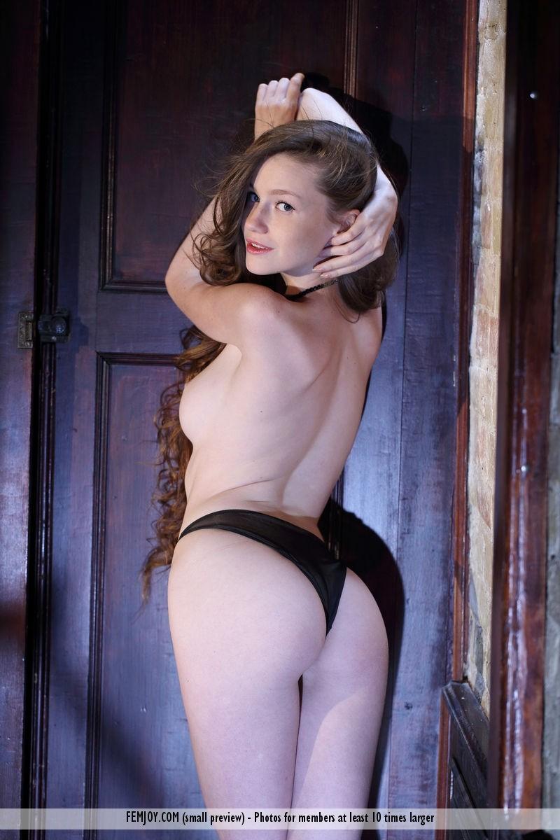 Emily Bloom Topless In Panties-8347