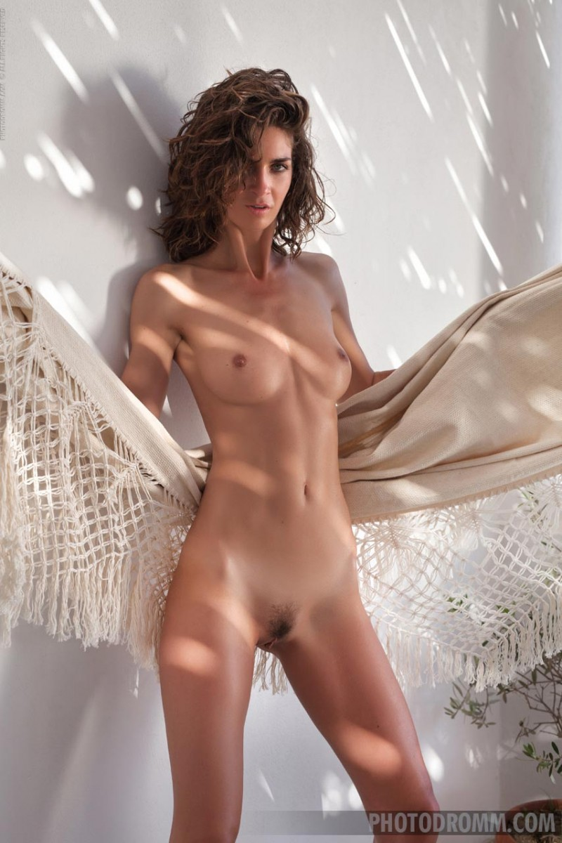 Casually blackhaired model teasing naked outdoors 138 something similar