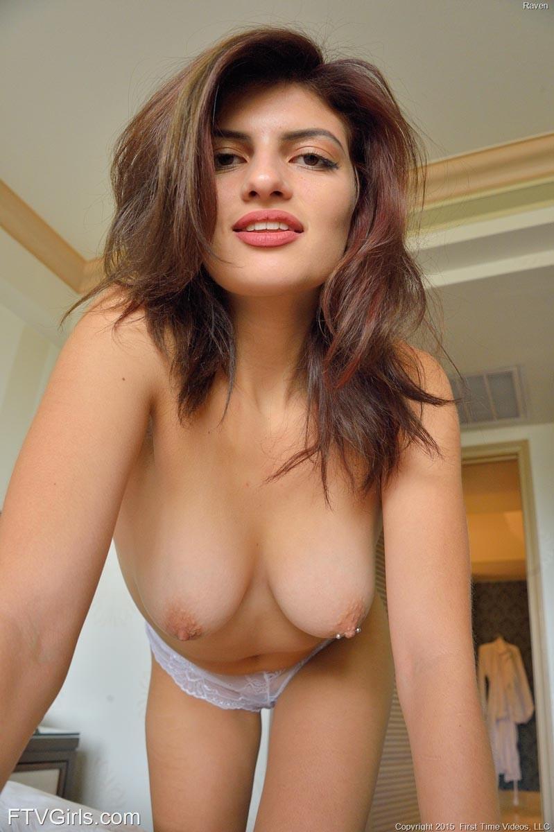 Ftv Raven Shows Cute Pierced Tits-7634