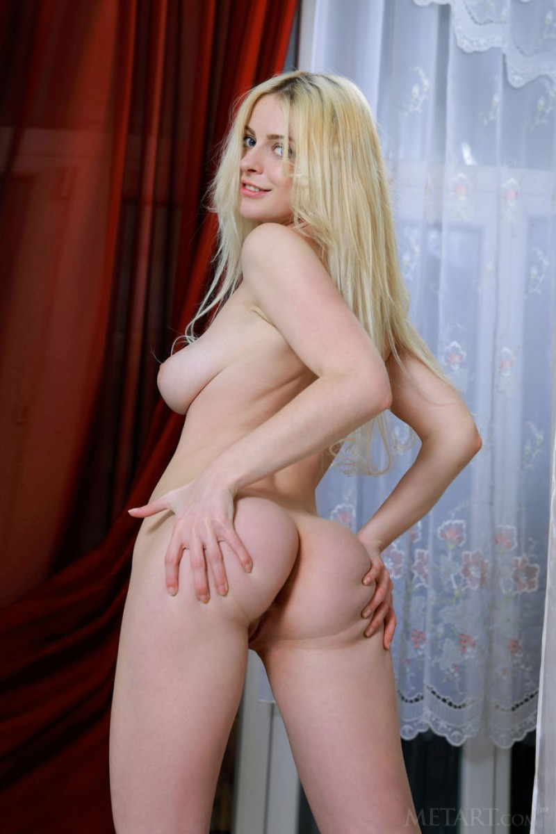 Angel Celine Hot Nude Platinum Blonde