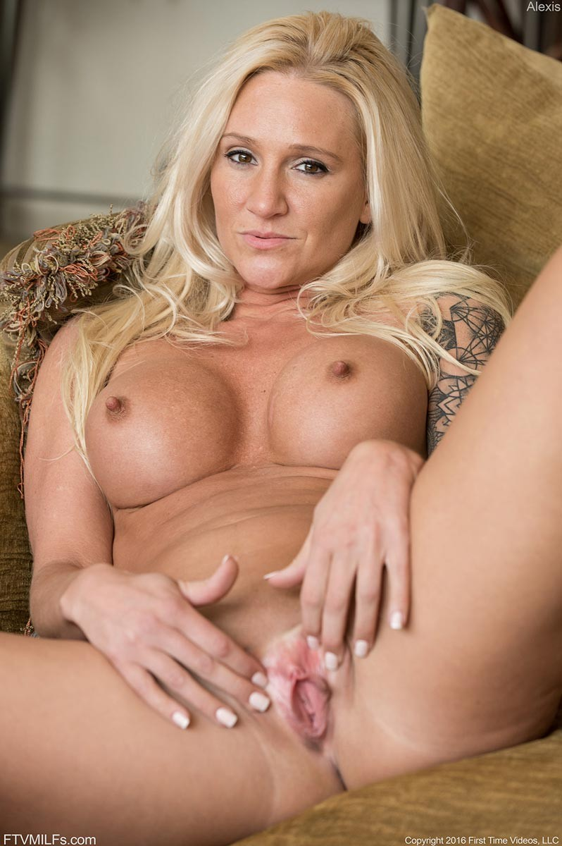 Blonde Tattooed Milf