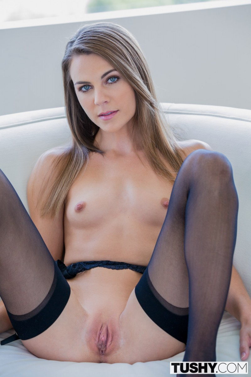 Ally Tate Anal in Stockings