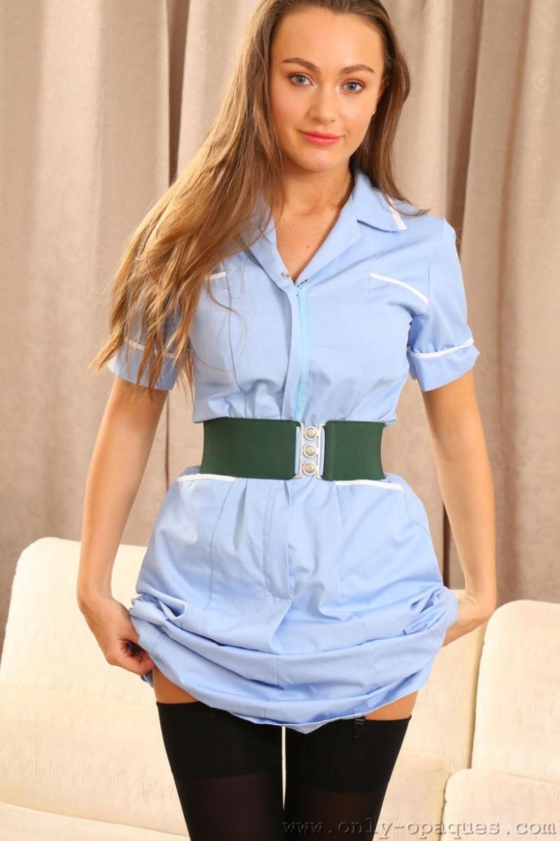 Big tits brunette nurse will help you heal - 3 part 10